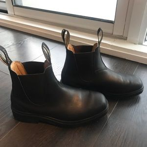 Black Leather Tapered Blundstones